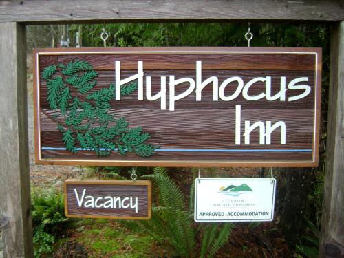 Hyphocus Inn - Ucluelet, BC V0R 3A0