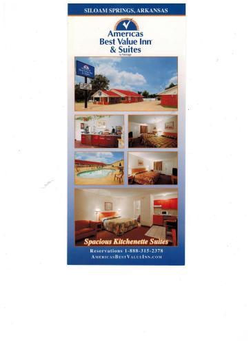 Americas Best Value Inn And Suites Siloam Springs - Siloam Springs, AR 72761