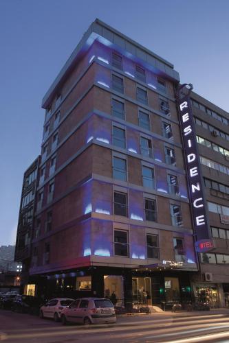 Izmir Residence Hotel harita