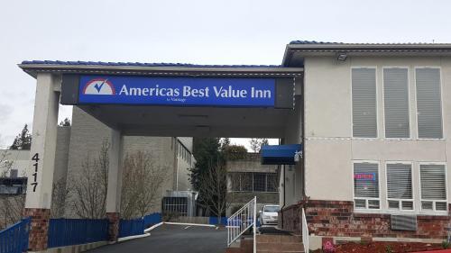 Americas Best Value Inn Lynnwood Seattle Hotel In Wa