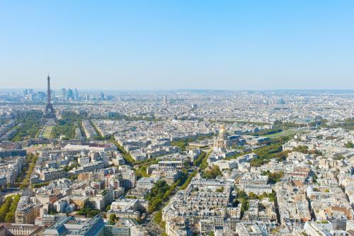 Aparthotel Adagio Paris Buttes Chaumont photo 23
