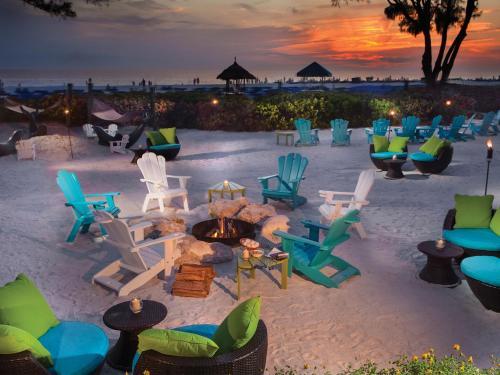 6,000 Gulf Boulevard, St Pete Beach, Florida 33706, United States.