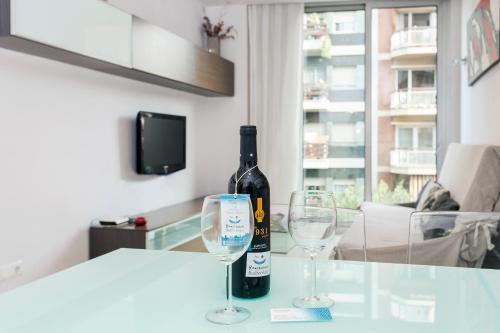 Apartment Corcega Sagrada Familia impression