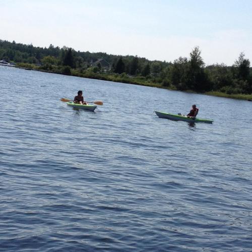 Chalets Au Bord du Lac Kénogami Photo