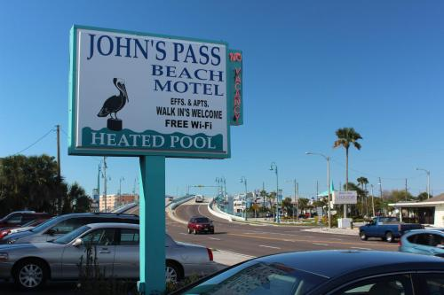 Johns Pass Beach Motel Photo