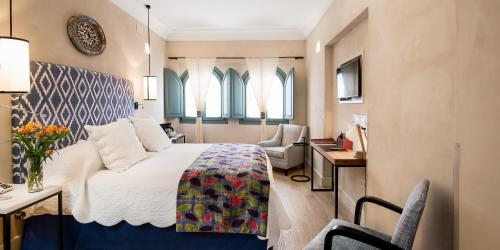 Double Room with Terrace Hotel Boutique Corral del Rey 5