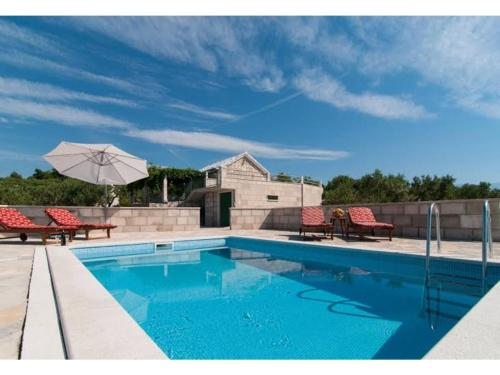 Holiday Home Dalmatia Stone House With Pool