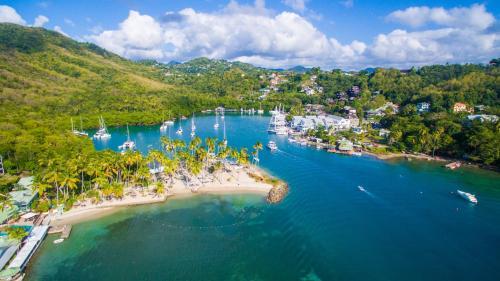 Marigot Bay Saint Lucia West Ins