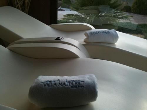 Habitación Doble con acceso al spa - 1 o 2 camas Villa Nazules Hípica Spa 8