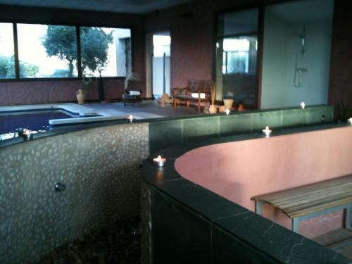 Habitación Doble con acceso al spa - 1 o 2 camas Villa Nazules Hípica Spa 9