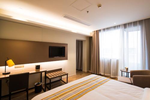 Home Inn Plus Beijing Nongzhan Chang Hongqiao photo 21