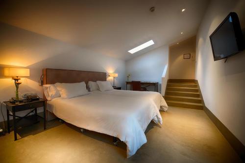 Habitación Doble - 2 camas Palacio Carvajal Girón 9