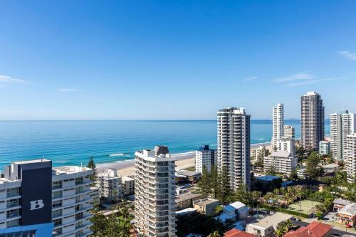 Corner of Surfers Paradise Boulevard and Enderley Avenue, Surfers Paradise, QLD 4217, Australia.
