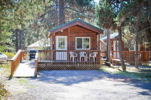 Bend-sunriver Camping Resort Studio Cabin 8