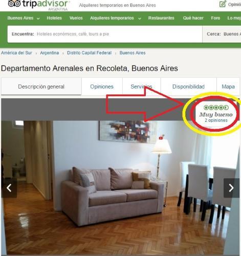 Departamento Arenales en Recoleta Photo