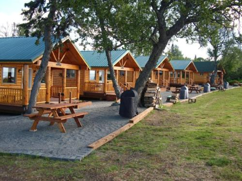 Cabins on the Bluff Photo