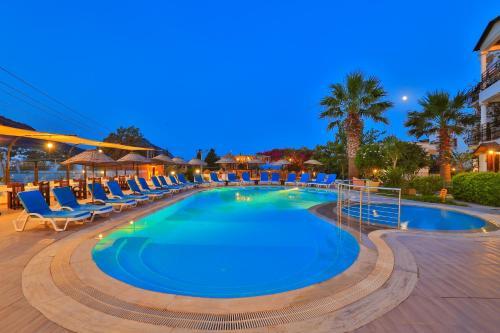 Akyarlar Sunny Garden Nilufer Hotel harita