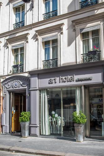 Art Hôtel Batignolles photo 25
