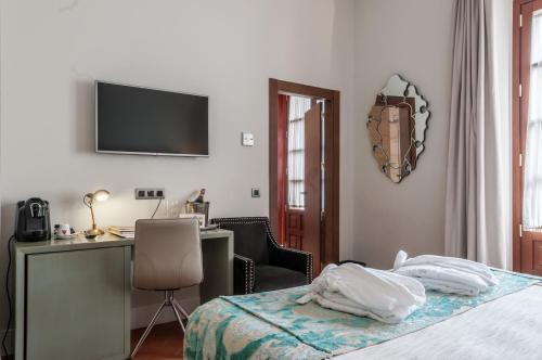 Habitación Doble Deluxe Palacio Pinello 18