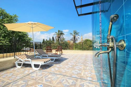 Antalya Delight Deluxe Aparts harita
