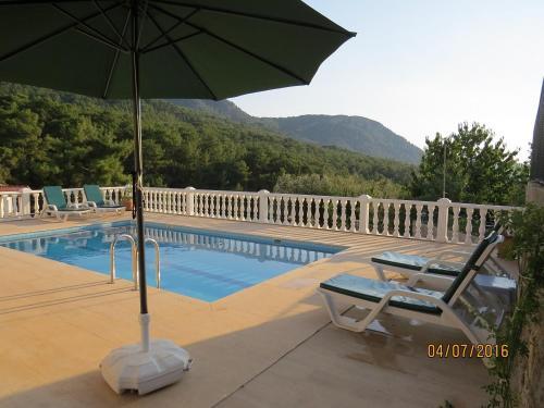 Fethiye Villa Valley View Uzumlu adres