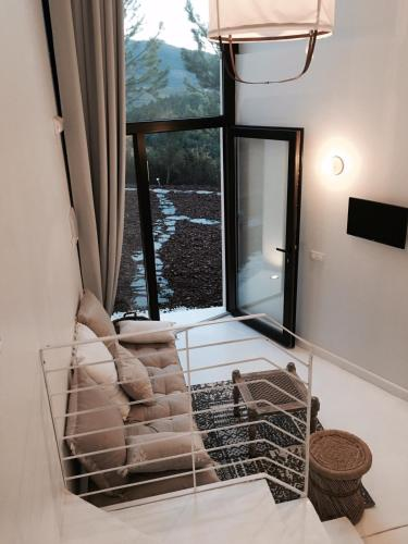 Estudio Deluxe con cama grande - Uso individual Akassa Alojamientos Bioclimaticos en las Hurdes 15