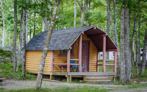 Patten Pond Camping Resort Cabin 6