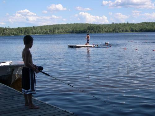 Patten Pond Camping Resort Cabin 6 - Ellsworth, ME 04605