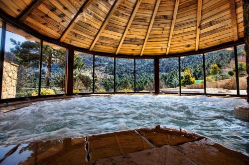 Habitación Doble con acceso al spa Coto del Valle de Cazorla 11