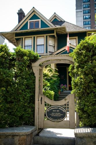 O Canada House Bed & Breakfast - Vancouver, BC V6E 1H1