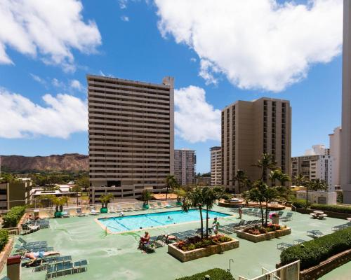 Waikiki Banyan Tower 1 Suite 707 Photo