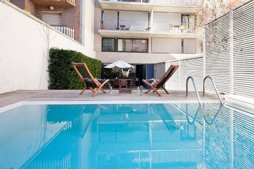Apartment Barcelona Rentals - Private Pool and Garden Center photo 4
