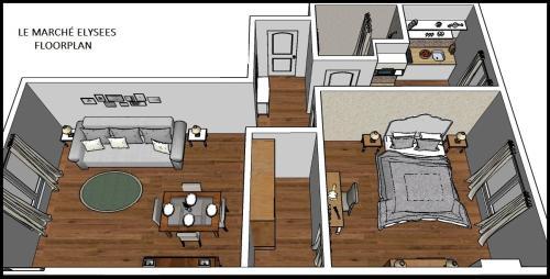 Apartment Ternes photo 25