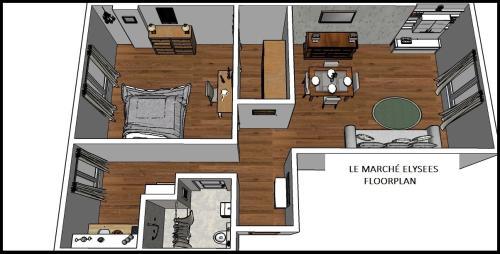 Apartment Ternes photo 26