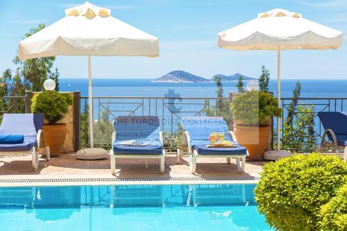 Kalkan Villa Nathalie - 1036 online rezervasyon