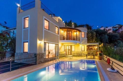 Kalkan Villa Alp online rezervasyon