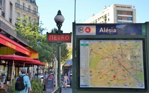 Hotel Le Clos d'Alésia photo 46