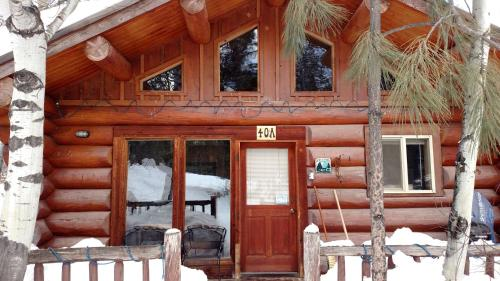 Stone Wolf Log Townhome At Wolfridge Resort