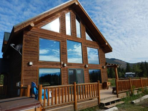 Lone Wolf Cabin At Wolfridge Resort - Winthrop, WA 98862