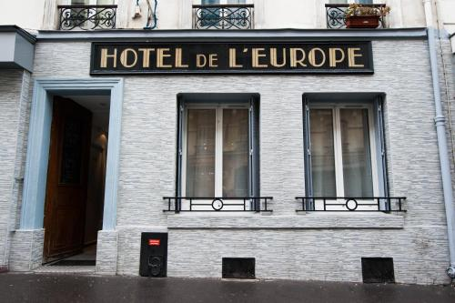 Hotel de l'Europe Belleville photo 34