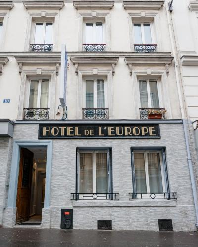 Hotel de l'Europe Belleville photo 42