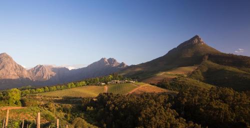 Helshoogte Pass, Stellenbosch, South Africa.