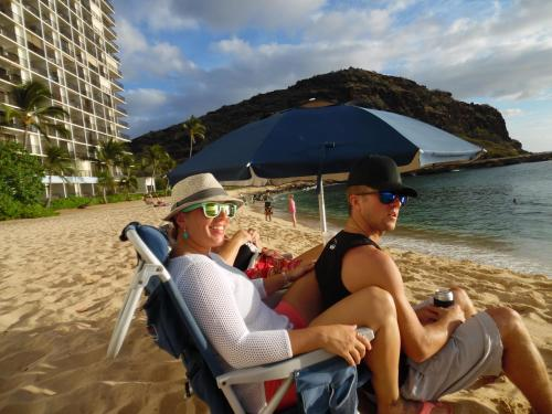 Makaha Beach Cabanas Penthouse