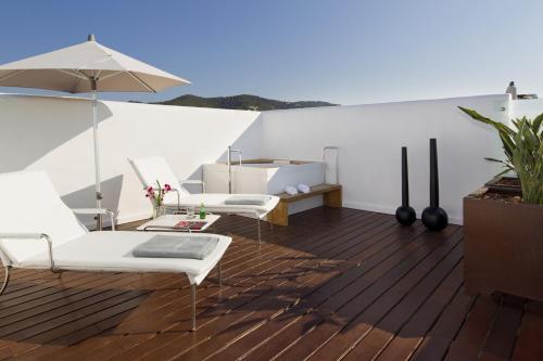 Junior Suite with Terrace Hotel Boutique Ses Pitreras 8