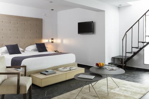 Junior Suite with Terrace Hotel Boutique Ses Pitreras 9