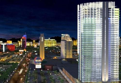 Palms Place Studio With Balcony Strip View In Nv