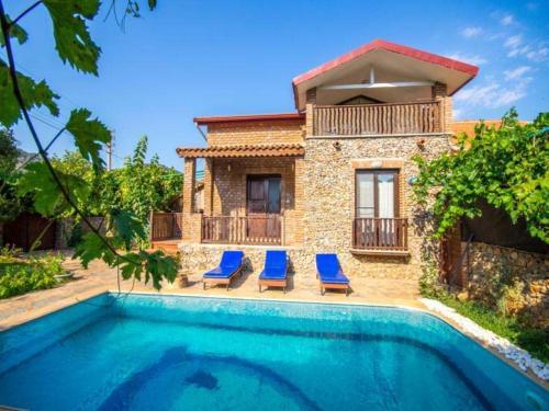 Fethiye New Age Villa Ecrin Korunaklı Havuz tek gece fiyat