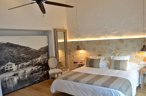 Double or Twin Room Hotel Galena Mas Comangau 15