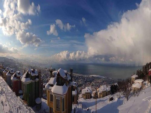 Trabzon Point House 2 Family Villa harita