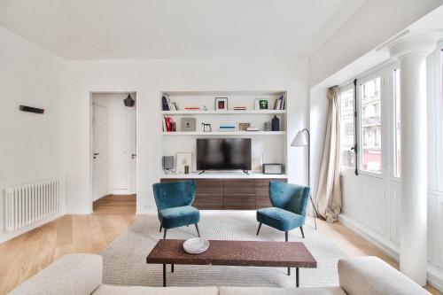 Rue du Louvre - Luxury apartment photo 16
